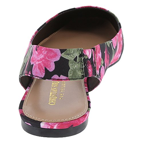 Christian Siriano For Payless Women S Black Floral Fabric