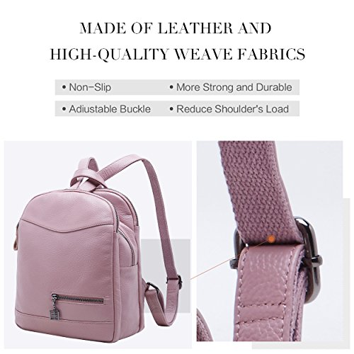 269d64b752 Genuine leather backpack rucksack for women. High quality cowhide cowhide  leather