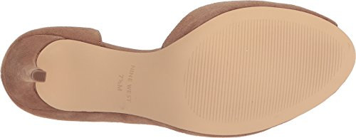 Nine West Women S Myron Natural Suede 10 5 M Us Cozy Red