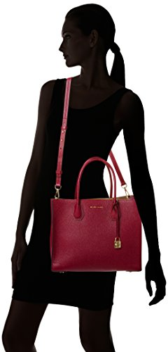 df2c30ea0fc5ed The MICHAEL Michael Kors Studio Mercer Tote Bag features a gorgeous grained  leather exterior with large inside pockets, and easily converts to an  adjustable ...
