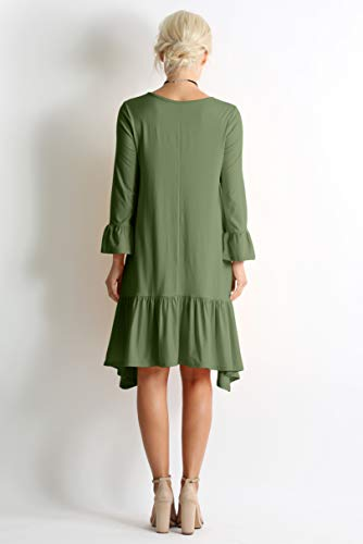 Long Sleeve High Low Dresses For Women Regular And Plus Size Made