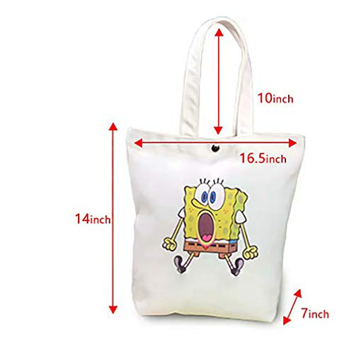 0e2ef0ee99ba Tote Shopping Handbags flower oil paint Good permeability W16.5 x ...