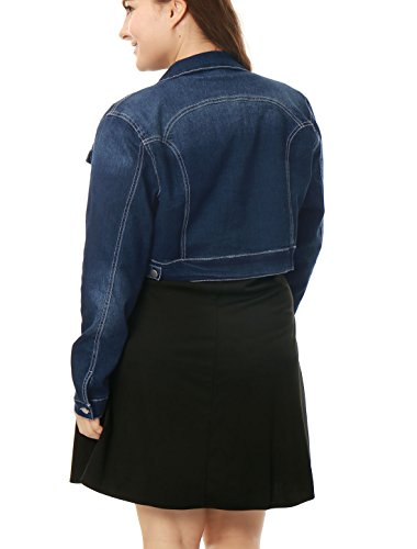 35c3077531a This denim jacket with pockets never goes out of style! Contrasting white  stitching