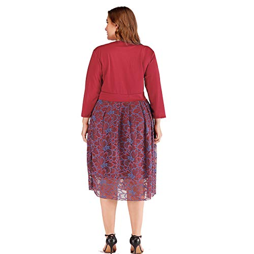 3181bc022ad86 Comes with 3/4 sleeves and a high waist to accentuate your curves. The  casual outfit has a V-neck surplice that draws attention to the upper ...
