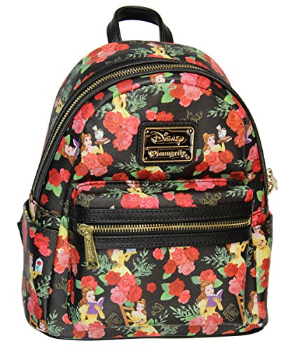 Loungefly X Disney Maleficent Mini Backpack Cozy Red