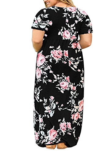 Rotita Womens Plus Size Dresses Casual Summer Maternity