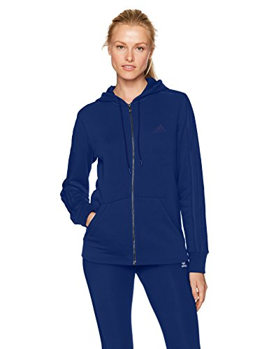 adidas 3 stripe sweatshirt womens blue